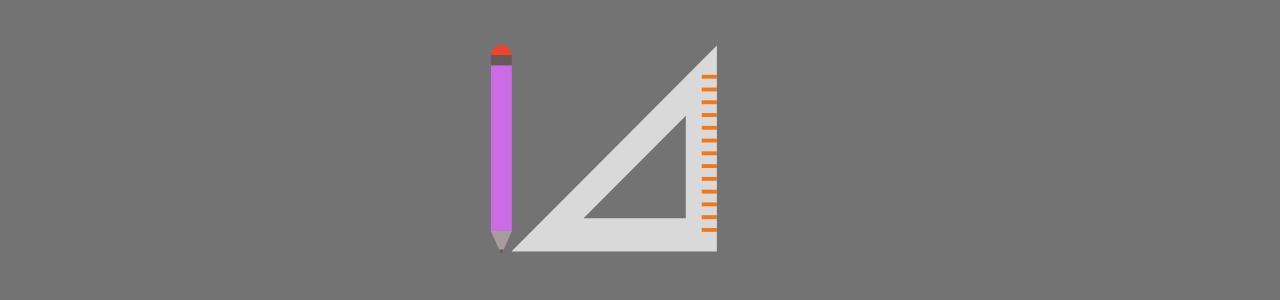 Ceruza és derékszögű vonalzó. Eszközök amikre biztosan szükséged lesz gipszkarton mennyezet készítésekor